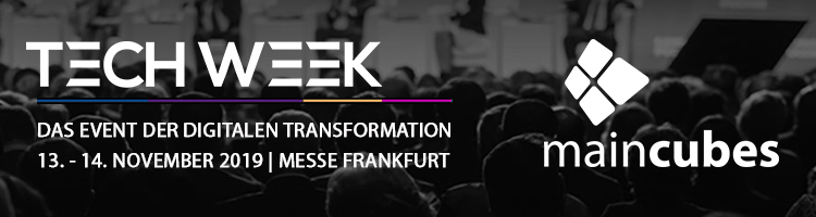 TechWeek November 2019 Frankfurt