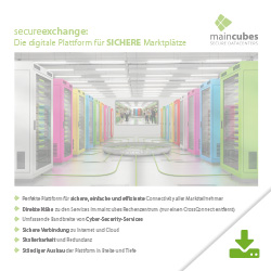maincubes Secureexchange