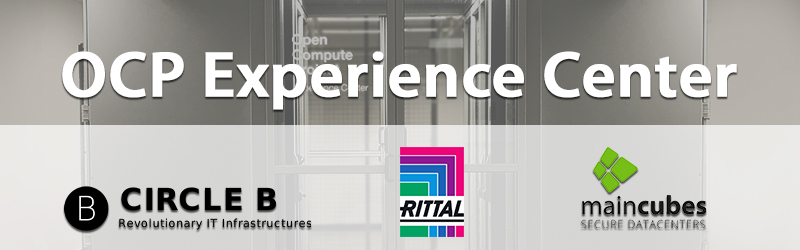Circle B And Rittal Opt For Maincubes' AMS01 Data Center For European OCP Experience Center