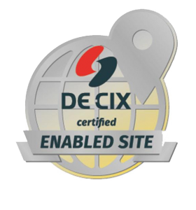 DE-CIX enabled site
