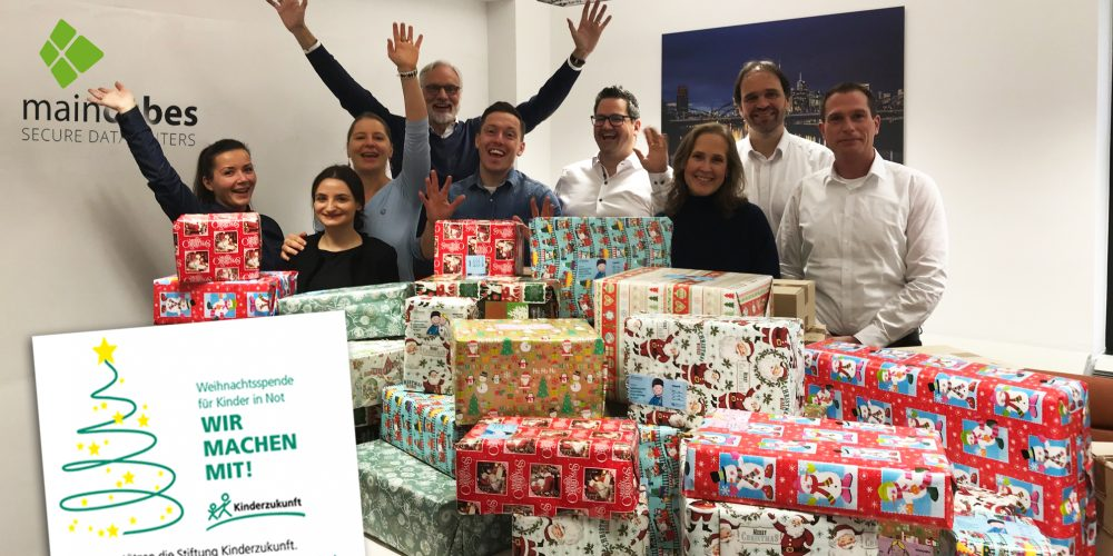 Christmas Parcels For Children In Need – Maincubes Team Gets Going